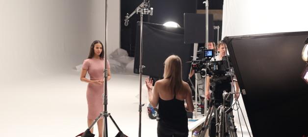 Zoe Saldana Behind-The-Scenes